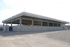 תחנת PRMS דוראד בתקופת ההקמה